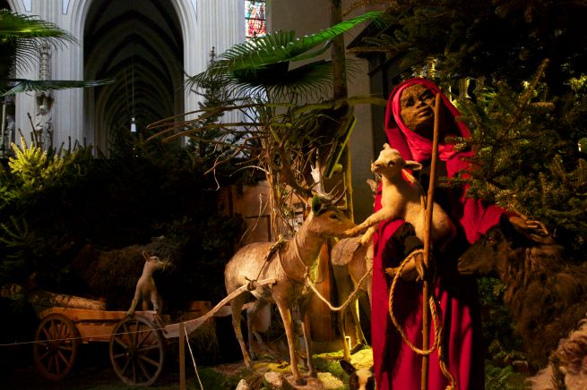 24-12-2012 Kerststal 2